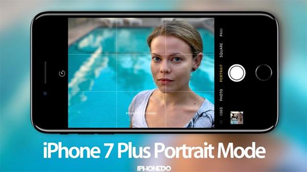 Chọn tính năng Portrait Camera