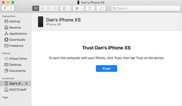 Chuyển một nhóm số trong danh bạ bằng iTunes