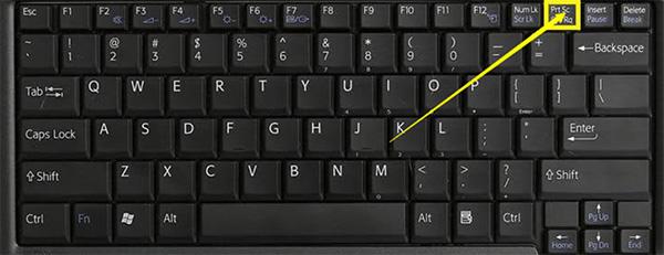 Sử dụng phím tắt Print Screen (PrtScn) giúp chụp ảnh toàn màn hình máy tính