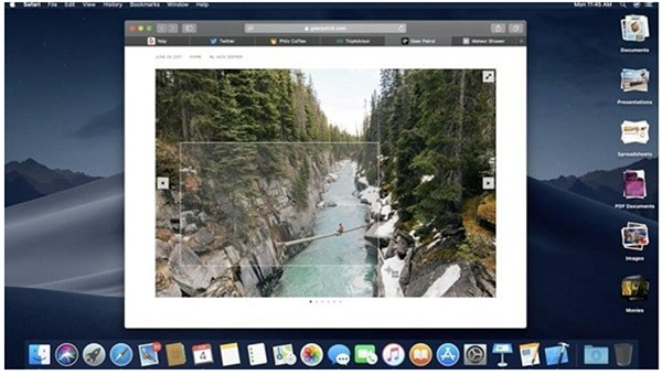 Cách chụp menu trên MacOS
