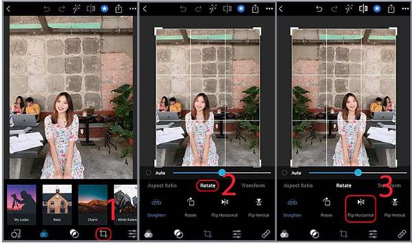 Cách lật ảnh chụp bị ngược trên iPhone