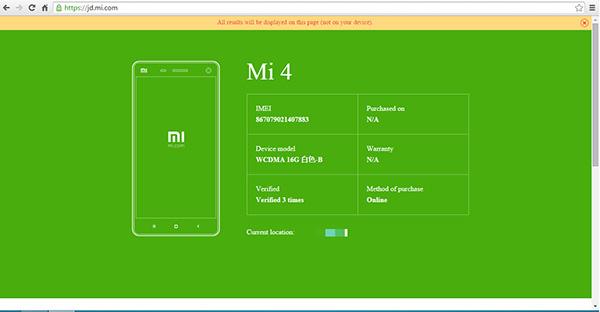AntiFake là một phần mềm giúp bạn kiểm tra điện thoại Xiaomi chính hãng khá hiệu quả