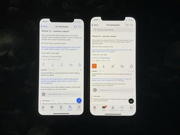 Kiểm tra lỗi ám màn hình iPhone