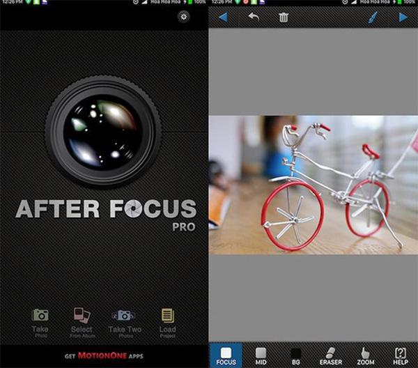 Với hơn 10 triệu lượt tải về, After Focus là ứng dụng chụp ảnh xóa phông được yêu thích nhất