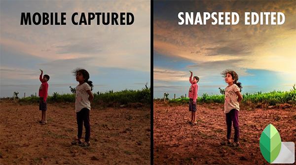 Ứng dụng Snapseed giúp người dùng có thể chụp và chỉnh sửa ảnh chụp xóa phông trên iPhone và các thiết bị Android khác