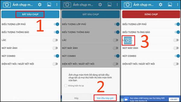 Chụp màn hình Andorid bằng ứng dụng Screenshot Easy (1)