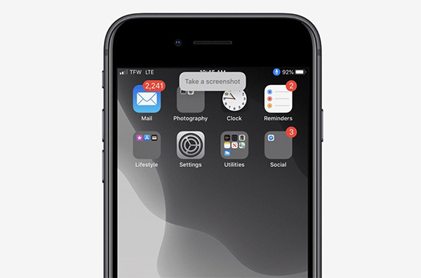 Cách chụp màn hình iPhone sử dụng phần mềm Voice Control