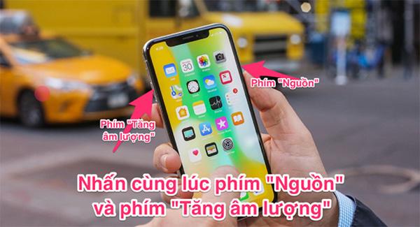 Cách chụp màn hình iPhone với phím cứng trên mọi dòng iPhone