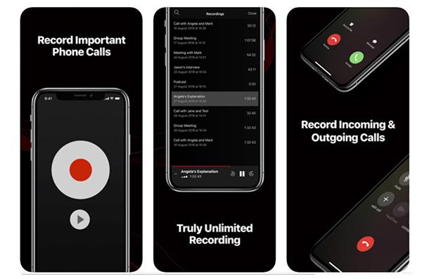 Call Recorder Pro là một phần mềm ghi âm cuộc gọi trên iPhone rất phổ biến