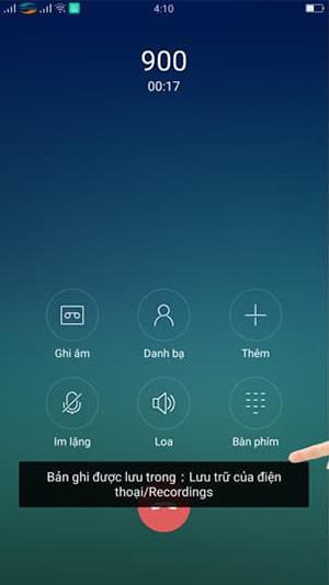 Cách ghi âm cuộc gọi trên điện thoại OPPO (1)