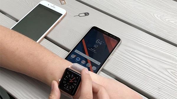 Bạn có thể kết nối Apple Watch với Android qua một thiết bị khác