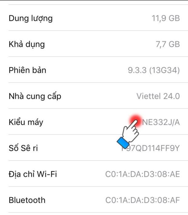 Cách kiểm tra iPhone của nhà mạng nào