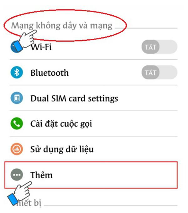 Cách phát Wifi từ điện thoại Android