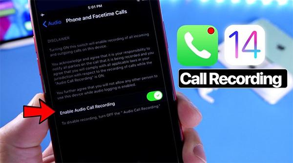 Hiện iPhone chưa hỗ trợ mặc định tính năng ghi âm cuộc gọi trên iOS