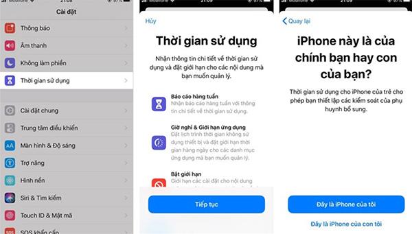 Đặt mật khẩu giới hạn ứng dụng cho iPhone giúp khóa ứng dụng Messenger hiệu quả