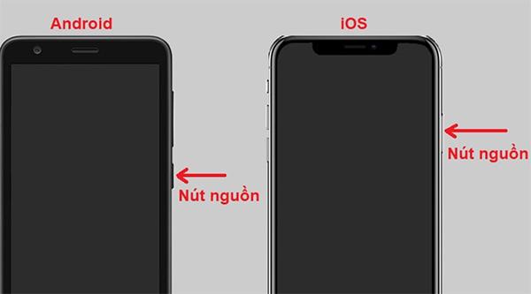 Nút nguồn điện thoại bị kẹt có thể là nguyên nhân khiến điện thoại sạc pin nhưng không lên nguồn