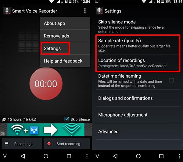 Cách ghi âm cuộc gọi trên Android (1)