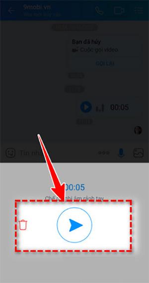 Gửi tin nhắn thoại qua Zalo trên Android (1)
