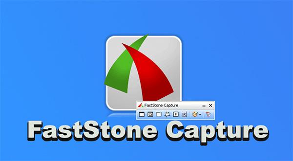 Phần mềm chụp ảnh màn hình Faststone Capture