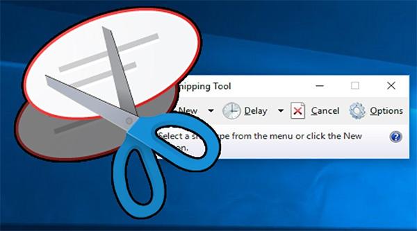 Phần mềm chụp ảnh màn hình Snipping Tool