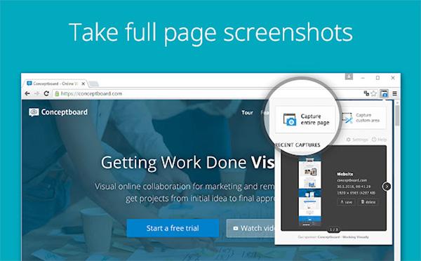 Phần mềm chụp ảnh màn hình Screenshot