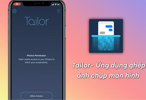 Cách chụp ảnh toàn màn hình trang web trên iPhone bằng phần mềm Tailor