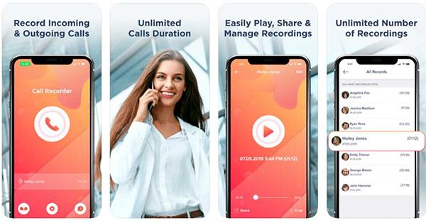 Phần mềm Call Recorder Save & Listen