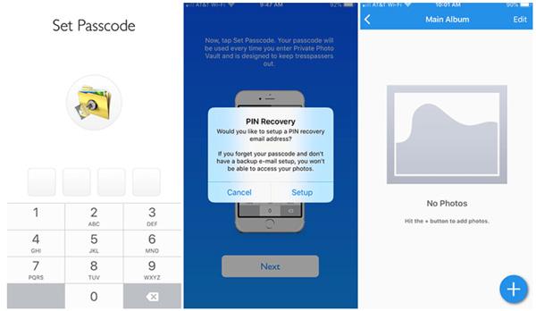 Phần mềm giấu ảnh trên iPhone Private Photo Vault