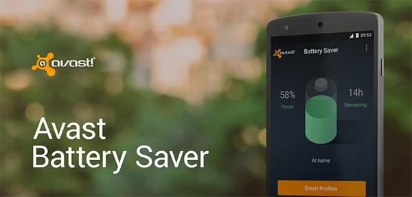 Ứng dụng quản lý pin Android - Avast Battery Saver