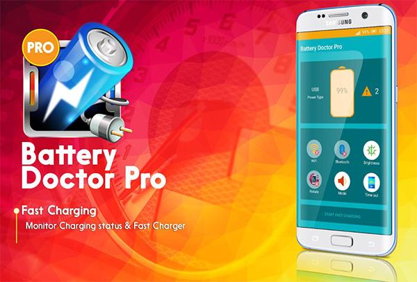 Phần mềm tăng tốc độ sạc pin Battery Doctor