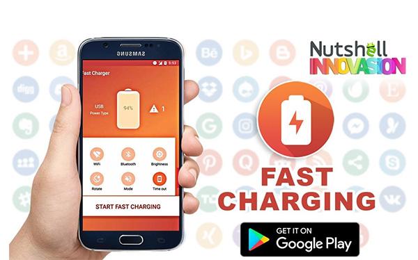 Ứng dụng sạc pin nhanh Fast Charger cho Android