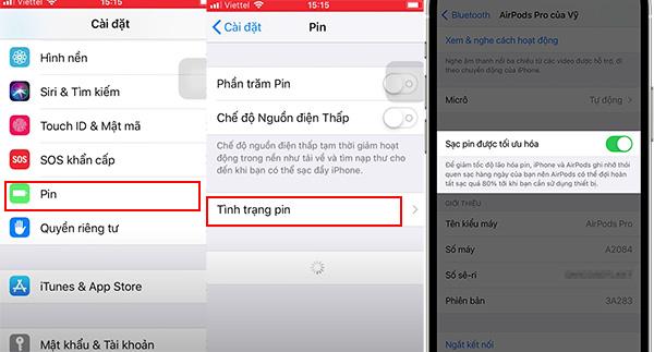 Cách bật tính năng tối ưu hóa sạc pin trên iPhone