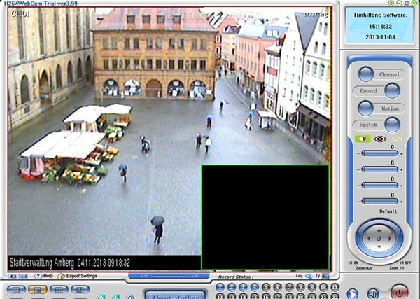 Phần mềm chụp ảnh và quay video qua Webcam H264 Webcam Pro