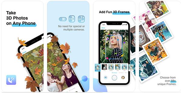 Ứng dụng chụp ảnh 3D LucidPix