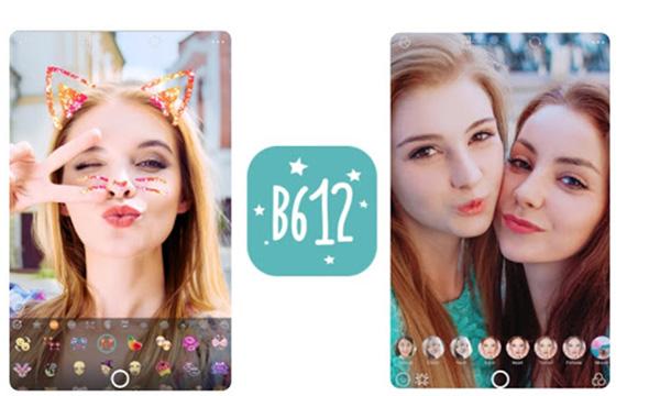 Ứng dụng chụp ảnh và quay video B612