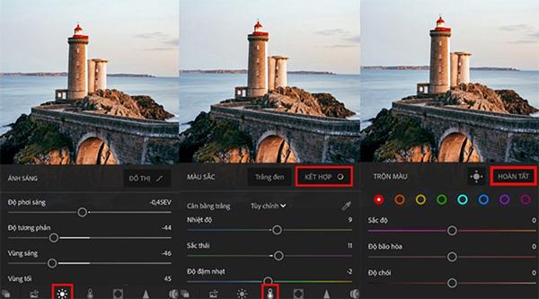 Ứng dụng chỉnh sửa hình ảnh trên điện thoại Lightroom