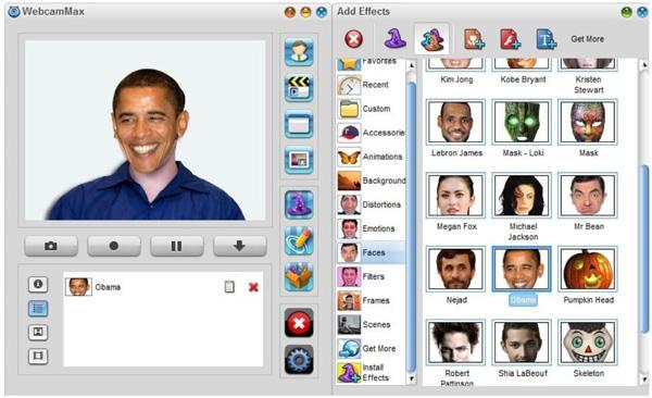 Phần mềm WebCamMax