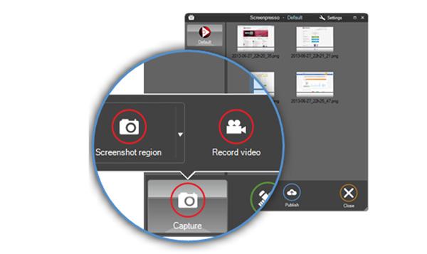 Ứng dụng chụp ảnh màn hình Windows Phone Screenpresso