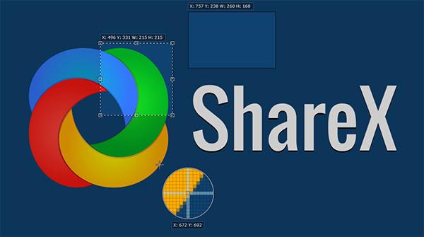 Ứng dụng chụp ảnh màn hình Windows Phone ShareX