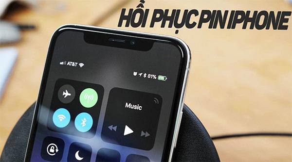 Xả pin điện thoại giúp phục hồi pin