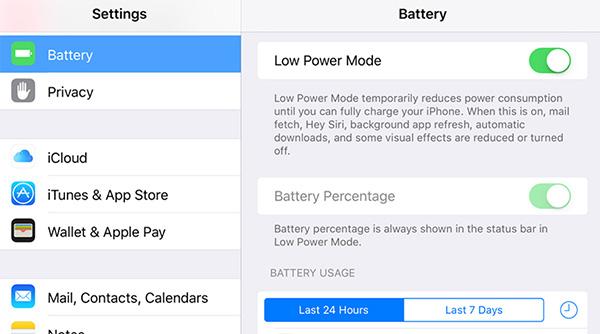 Hãy bật chế độ tiết kiệm pin trên iPhone và Android khi cần thiết