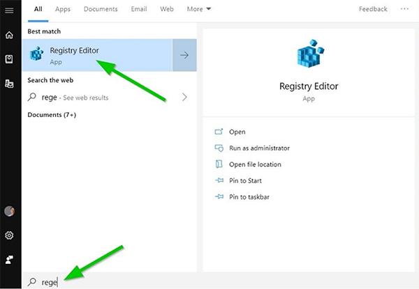 Để khắc phục lỗi máy tính không tạo được New Folder, hãy sử dụng Registry Editor