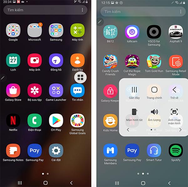 Hướng dẫn cách cài đặt khóa màn hình Android bằng nút Home ảo (1)