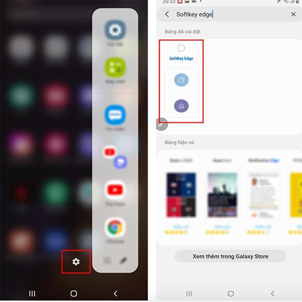 Khóa màn hình điện thoại Android màn hình cong (1)