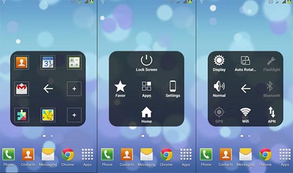 Phần mềm khóa màn hình Android không cần nút nguồn Easy Touch