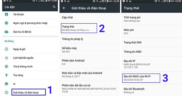 Cách xem địa chỉ MAC trên Samsung và các thiết bị Android khác