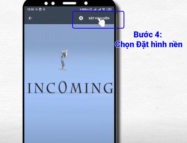 Cài màn hình nền video cho Android (2)