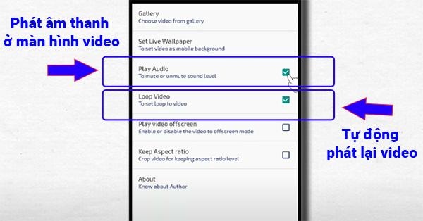 Cài màn hình nền video cho Android (4)