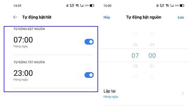 Cách hẹn giờ tắt mở trên các thiết bị Android khác (1)