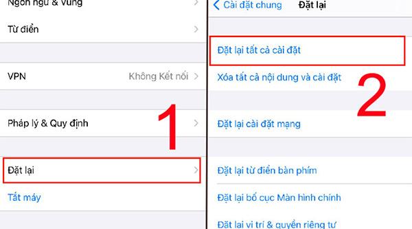 Nhớ sao lưu dữ liệu trước khi khôi phục cài đặt gốc điện thoại nhé